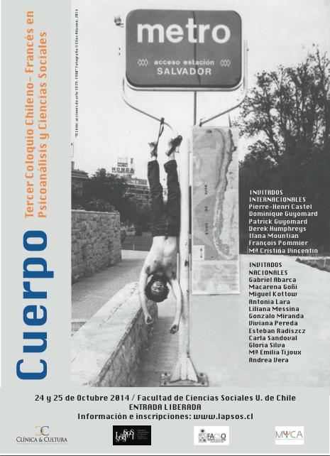 LaPSoS invita a Coloquio 2014 «Cuerpo» en Facultad de Ciencias Sociales de la Universidad de Chile